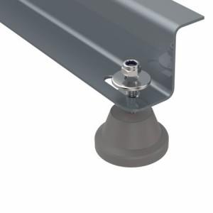 Amortizoare vibratii Senor SE-C pentru unitati exterioare 7000 - 15000 BTU, set 4 buc, montaj pe pardoseala