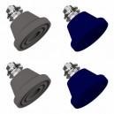 Amortizoare vibratii Senor SE-C pentru unitati exterioare 18000 - 24000 BTU, set 4 buc, montaj pe pardoseala