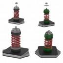 Amortizoare vibratii Senor SE-TBMF pentru unitati exterioare 18000 - 60000 BTU, set 4 buc, montaj pe pardoseala